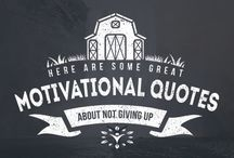Motivational Quotes About Not Giving Up / These motivational quotes about not giving up are here to inoculate you against the down days and the pity parties. Take some of these in and then keep on reaching!
