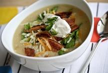 Food - Soups / by Kristi Wong