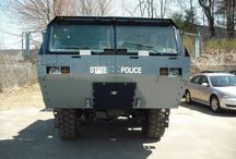 Mass State Police Flood Vehicle / Up-Fitted by Adamson Industries