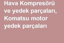 Komatsu Overhaul Spare Parts / Komatsu Overhaul Spare Parts