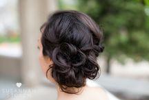 // Beauty // / Wedding Beauty, Wedding Hair, Wedding Make-up, wedding inspo, wedding inspiration, bride, bridesmaid, Colorado wedding photographer, wedding photography