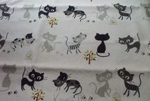 Kawaii Cute Fabric / Fabric finds with adorable prints. I'm especially fond of cats and owls as you will see.