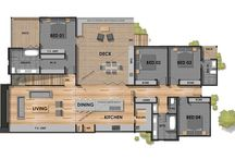 Floor plan Master Bathroom