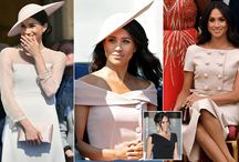 Meghan loves pale pink and so do we! / HRH The Duchess of Sussex is a huge fan of pale pink outfits, which are perfect for summer. Our collection of beautiful pale pink shoes, with extra width in the toe box would make the perfect pairing, offering for day-long comfort and an abundance of style!