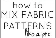 HOW TO MIX THE FABRICS