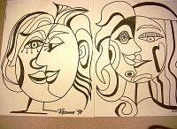 Picasso inspiráció