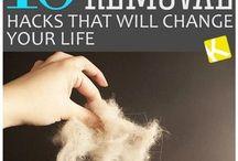 Pet Hair hacks
