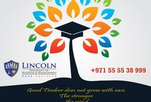 Education is a gift that none can take away. LUBM - https://www.lincoln-edu.ae