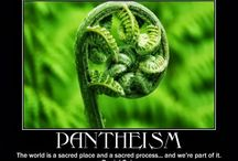 Pantheism / Energy (aka Mother Nature aka Pan) is my god.  Neither God nor energy can be created nor destroyed, both are omnipresent, and both are invisible.
