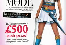 """Contest / Oak Tree Press UK and British Mode Magazine are running a contest to discover """"The Face of Rebecca Newton!"""""""