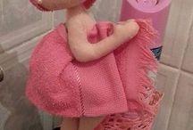 bonecas de pra enfeite