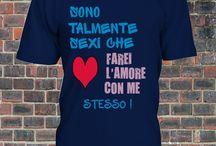 SONO TALMENTE SEXI CHE FAREI L'AMORE CON ME STESSO! / ElNaple 1926 fanshop T-shirt--  http://bit.ly/ElNapleFanShop