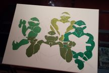 Drawing the Turtles / How the picture developed.