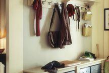 Organization...laundry pantry mudroom / by Kristen Schriner