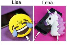 {Lisa VS Lena} ~{Lisa&Lena}