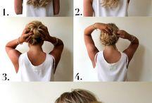 Peinados  / Facil y rapidos