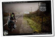 Biking HWY 101