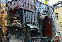 洋風古い建物