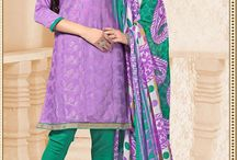 Cotton Salwar Kameez / Buy latest designer cotton salwar kameez online at best rates from SareesBazaar.com