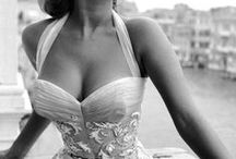 Celebrities Sophia Lauren.