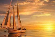Ships, boats, yachts, docks, sailboats, rowing boats, kayaks, canoes, merchant ships,gondola