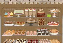 Patisserie + cupcakes= A Smile :) / by Mary Beth Elliott