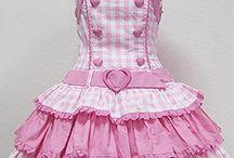 vestidos infantil juninos