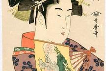 絵_喜多川 歌麿/Utamaro Kitagawa