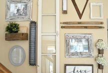vintage lakás dekor