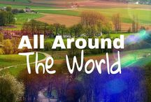 ALL AROUND THE WORLD! / ALL AROUND THE WORLD. COMMENT TO JOIN ❤ INVITE YOUR FRIENDS ❤