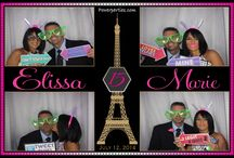 Miami Photo Booth Ideas / As a very popular add on to any event Photo Booths are it! Have a beautiful customized booth at you next Wedding, Quince, Corporate party etc. Social media station and digital guestbook is also available. Call us today to stop by and take some silly pictures.