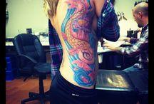 Koi fish tattoo / by Nicole Alter