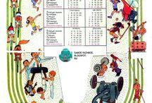 Календарь настенный / Все игры и игрушки из советского детства - http://samoe-vazhnoe.blogspot.ru/
