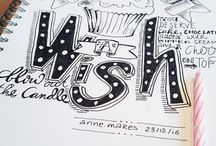 + HANDLETTERING by annemares +