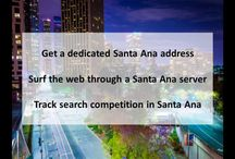 Santa Ana CA Private Proxies / Santa Ana is the county seat and second most populous city in Orange County, California. The United States Census Bureau estimated its 2011 population at 329,427.