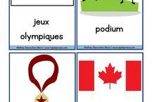 Thème Jeux olympiques