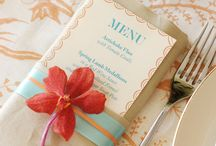 Design Ideas | Menus / by Jessica Swatts Photography
