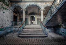 Abandoned building- opuštěné budovy