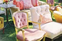 Stylish Wedding Seating / Stylish seating for all special occasions.