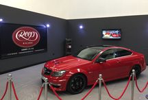 Mercedes AMG C63 / The Heavyweight Champion of Germany taking centre stage at Reep Midlands following a front-end application of LLumar's self-healing transparent PPF film followed by a lavish application of Gtechniq CS Black & Total Surface protection inside and out.