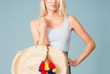 Heidi Wynne Straw Bags