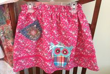 My up-cycled clothing--Lilly-James.   / Kids clothing--upcycled.