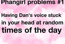 Phangirl (or boy) Problems / If your a true phan then you should be able to relate to most of these problems.