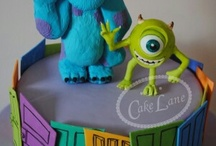 1 Monsters inc cakes