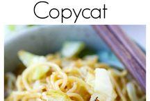 copy cat recipies