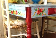 Funky Furniture / Fun painted furniture! / by Mary Sterk