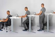 Sit Stand Desks - Workplace Wellness / We list our favorite Sit Stand desks ideal for your office work space or home office. Wellness at your workplace is vital and we here at Wellness Interactive select some awesome ergonomic desks for you