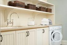 laundry room love / by Jennifer Saddler
