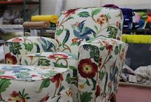 SLIPCOVERS / Custom fitted slipcovers made right here at The Fabric Mill.