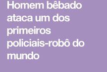 POLICIAIS-ROBÔ DO MUNDO